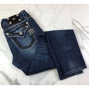 Miss Me• Embellished Pocket Skinny Jeans